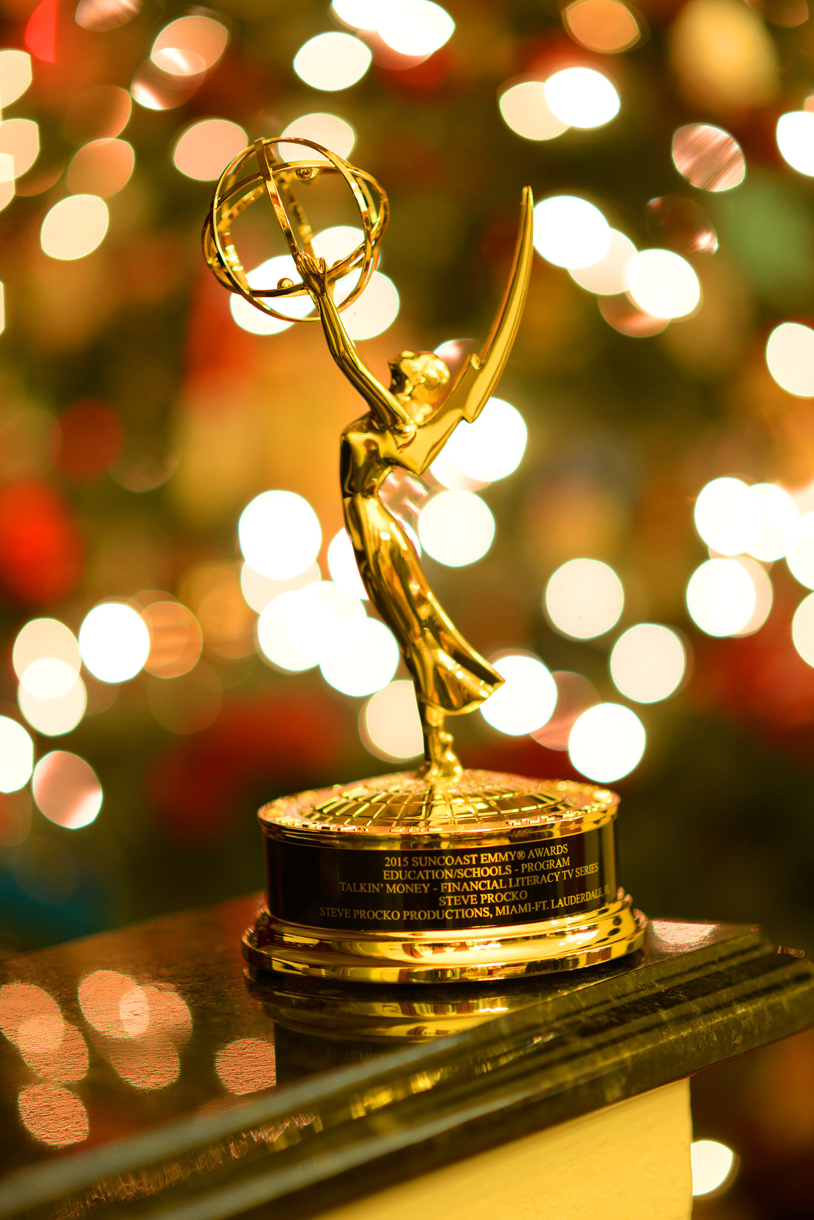 The National Academy of Television Arts and Sciences has awarded Steve Procko Productions an Emmy Award in the Educational Programming category for its Talkin' Money Financial Literacy Educational Video program.